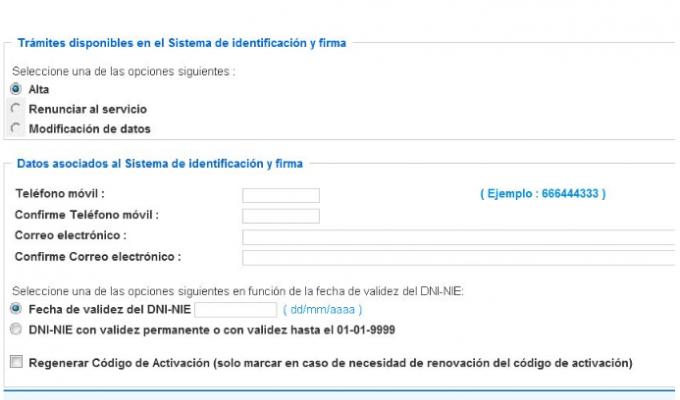 El sistema clave nueva forma de acceso online a los for Sellar paro por internet andalucia certificado digital