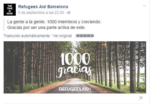 facebook refugees 1000